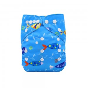 YIFASHIONBABY Pocket Baby Cloth Nappies – Little Fish YI57