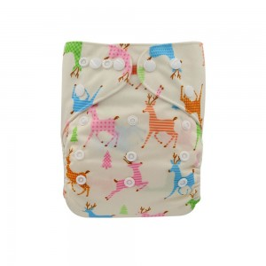 YIFASHIONBABY  Regular Cloth Diapers for Baby — Wapiti YI56