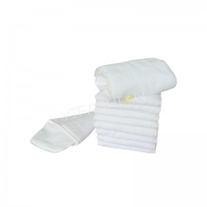 YIFASHION 50pcs/pack 3layers Reusable Microfiber Absorbency Diaper Insert Wholesale 50MF