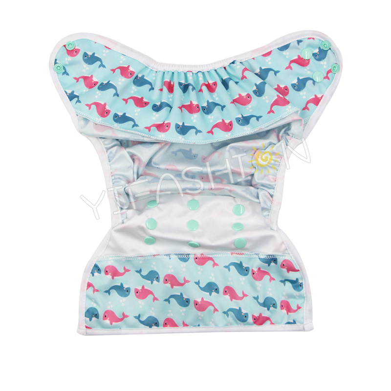 Diaper Cover Yifashionbaby 20pcs Reusable Cloth Diaper Cover One