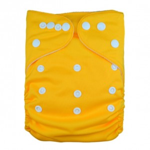 YiFashion Plain Diapers – Yellow  CS02