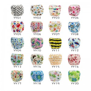 (Swimming Diapers)YIFASHIONBABY 50pcs Summer Waterproof Swimming Pants Reusable, Adjustable Baby Swimming Nappy 0-2ages