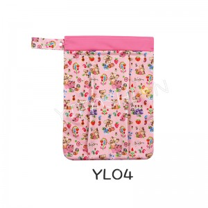 YIFASHION BABY 1pc Baby Waterproof Washable Reusable Hanging Diaper Organizer Bag YL04
