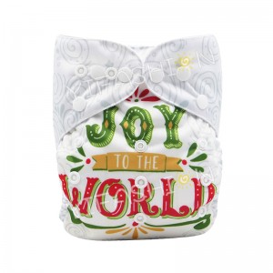 YIFASHIONBABY 1pc White Neutral Pocket Diapers+1pc Microfiber Insert – DD08(Joy World)