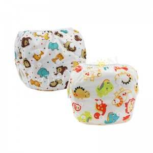 YIFASHIONBABY 2pcs/pack Netural Animal Breathable Swimming Nappy, Adjust Swim Diaper For baby 0-2ages YY-Z08